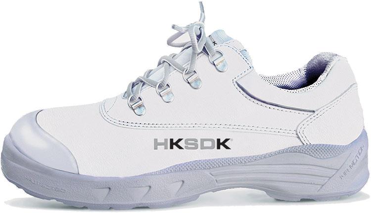 HKSDK H3 White Safety Shoe for Women